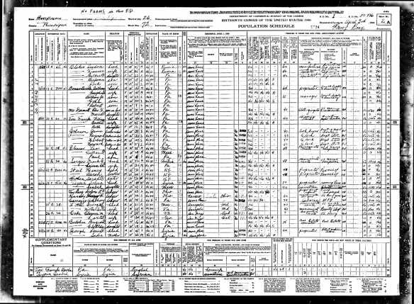 The Weil Siblings 1940 census