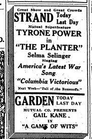ad dec 1 1917 for selma selinger