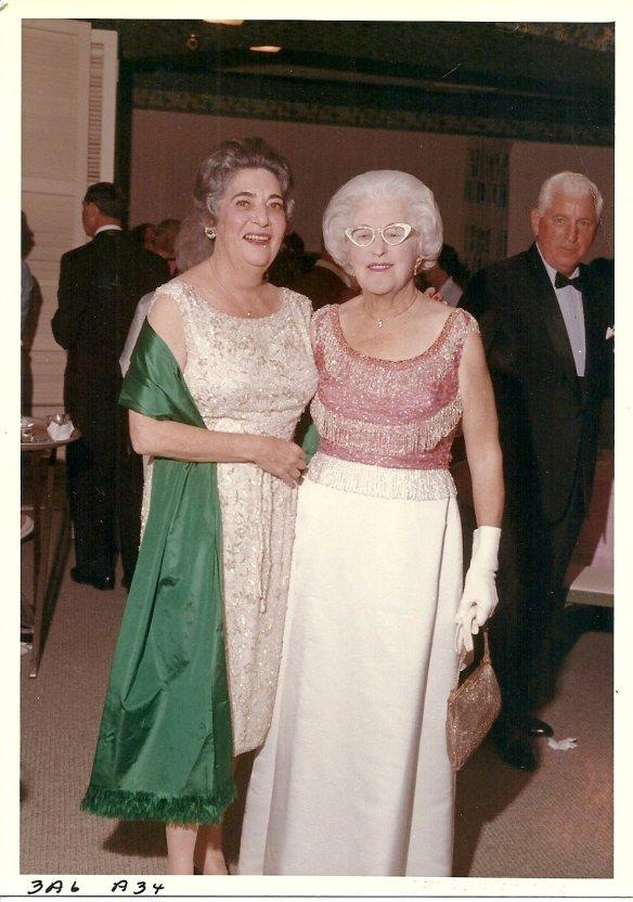 Aline Panitz Katzner and her sister-in-law Anna Katzner Robinson