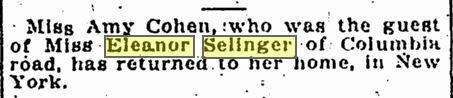 Washington Star, January 16, 1916