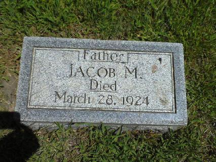 jacob M Cohen headstone