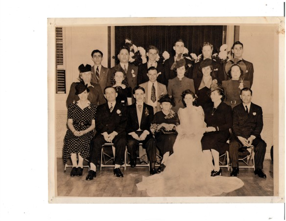 Wedding of Jerome Seamon and Lillian Wolf September 22, 1940