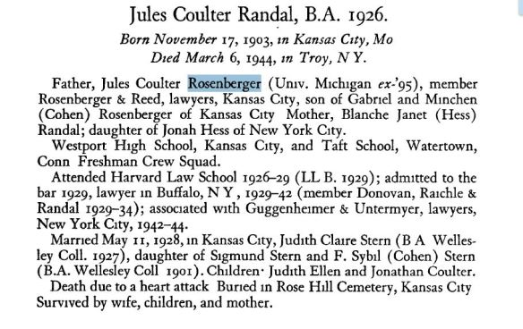 From the Yale Bulletin Obituary Record 1943-1944 http://mssa.library.yale.edu/obituary_record/1925_1952/1943-44.pdf