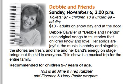 Ad from the Baltimore JCC Program Guide Fall 2011