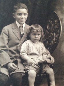 Roger and Myer, Jr., c. 1909, photo courtesy of Jane and Scott Cohen