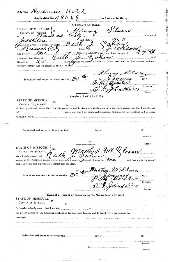 Ruth Cohen marriage license-page-002