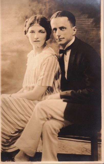 Eva Schoenthal and John Cohen, Jr. 1923