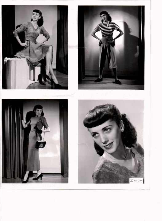 Marjorie as a student at NY Dramatic Arts Academy