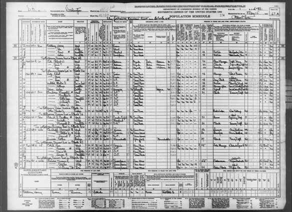 Morton Hartstall 1940 census