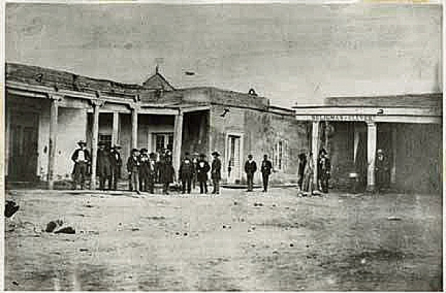 oldest photo of santa fe