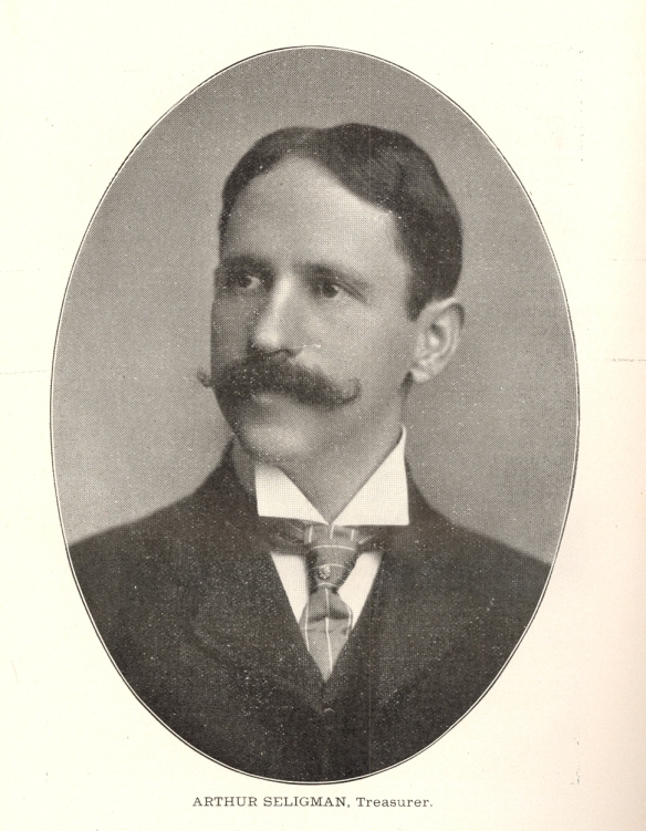Arthur Seligman 1903 courtesy of Arthur Scott
