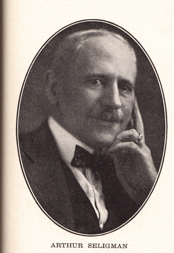 Arthur Seligman, c. 1925 from Twitchell, p. 479