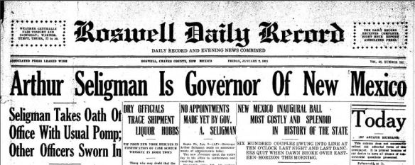 headline elected governor