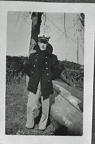 Midshipman Morton Tinslar Seligman c. 1918  Courtesy of Arthur Scott