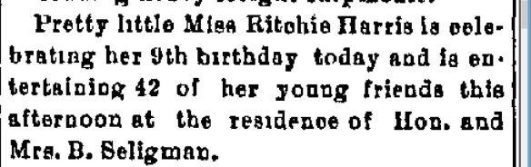 Ritchie Harris birthday snip