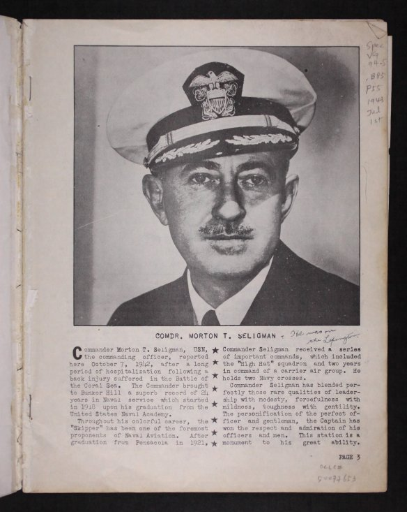 US Navy Cruise book from Fold3 dated 1943