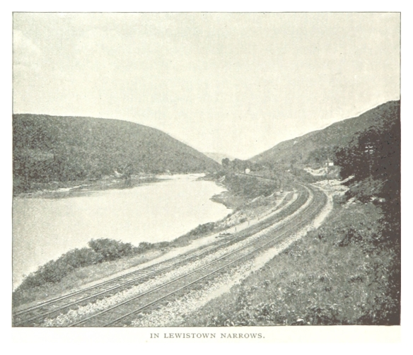 Lewistown Narrows http://commons.wikimedia.org/wiki/File:PRR(1893)_p092_LEWISTOWN_NARROWS.jpg