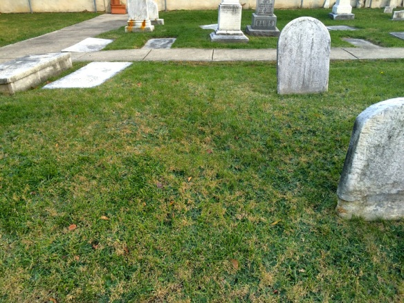 Burial sites for Elizabeth Cohen and Lewis Cohen (Hart's children)