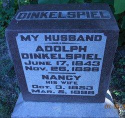 dinkelspiel headstone