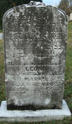 leon marks headstone
