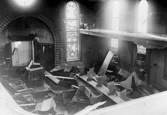 Syngague after Kristallnacht http://www.alemannia-judaica.de/images/Images%2022/Hechingen%20Synagoge%20071.jpg