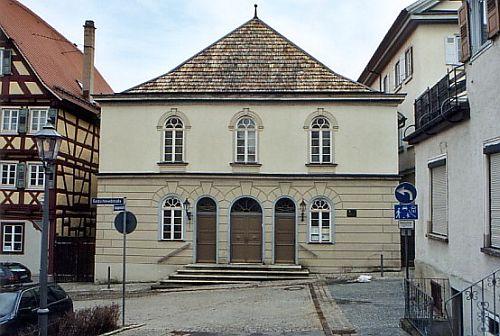 Hechingen Synagogue http://www.alemannia-judaica.de/images/Images%2050/Hechingen%20Synagoge%20533.jpg