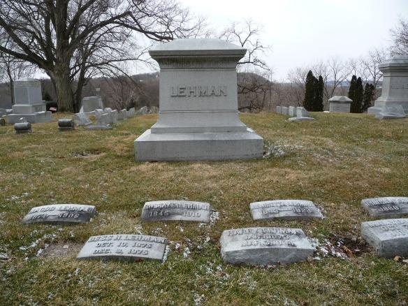 lehman headstone