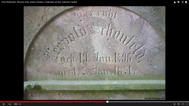 Leopold Schoenfeld headstone