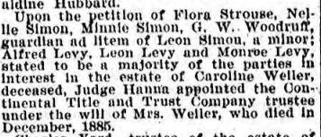 Philadelphia Inquirer April 2, 1899, p. 9