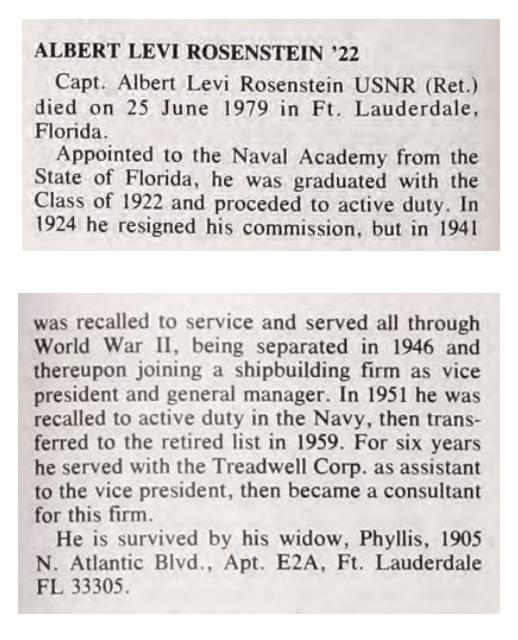 US Naval Academy alumni magazine Shipmate, October 1979