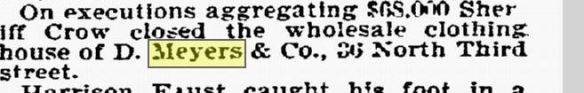 Philadelphia Inquirer, November 1, 1897, p. 9