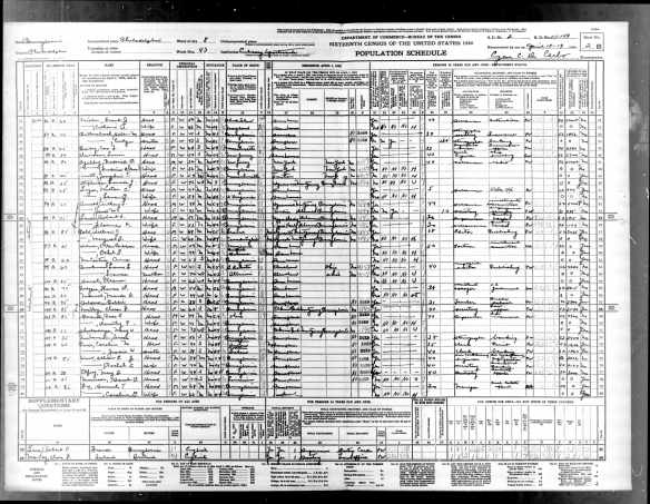 Year: 1940; Census Place: Philadelphia, Philadelphia, Pennsylvania; Roll: T627_3692; Page: 2B; Enumeration District: 51-149