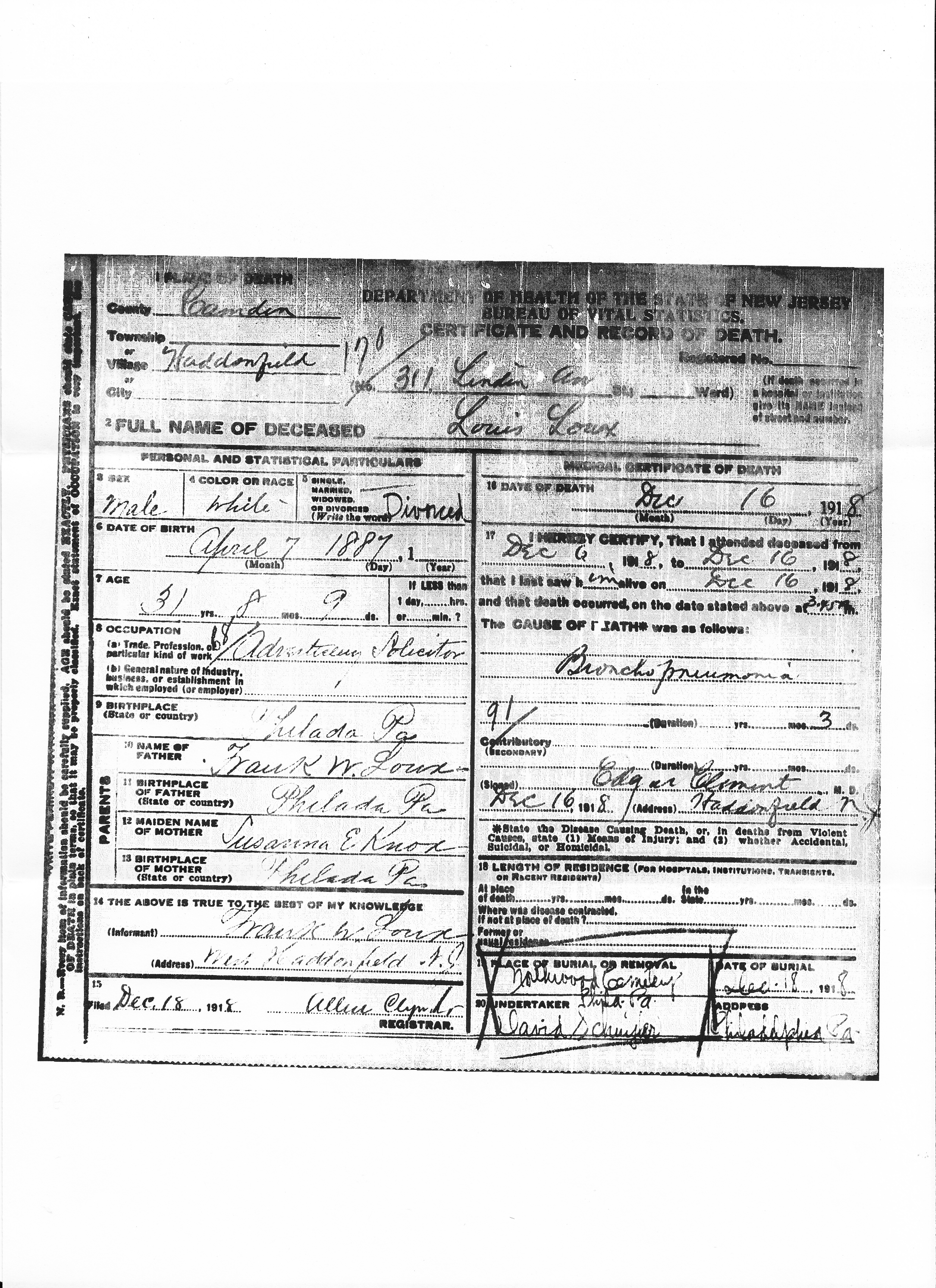 Vital records brotmanblog a family journey death certificates0003new aiddatafo Choice Image