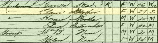 Year: 1920; Census Place: Philadelphia Ward 32, Philadelphia, Pennsylvania; Roll: T625_1633; Page: 3A; Enumeration District: 1058; Image: 839