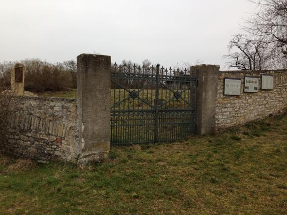 Jewish cemetery in Gau-Algesheim