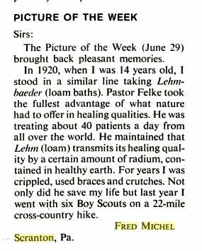 Life Magazine, July 20, 1962, p.21, at