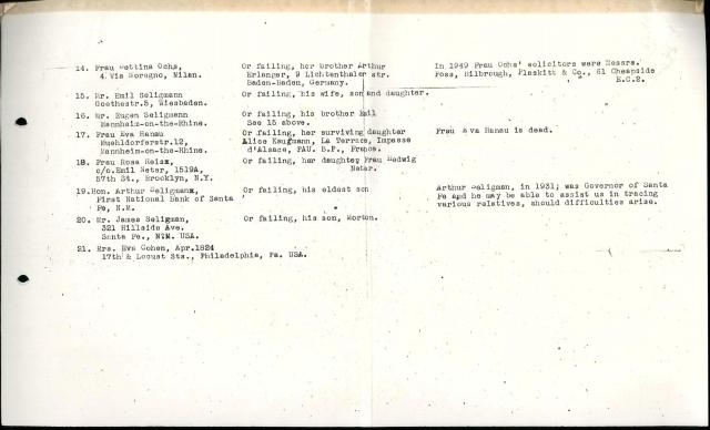 Heirs List p 2