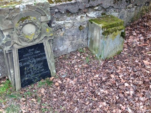 Rosa headstone