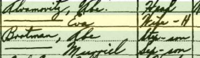 Eva Siegel Brotman Abromovitz and sons 1930 census Year: 1930; Census Place: Rock Island, Rock Island, Illinois; Roll: 553; Page: 5B; Enumeration District: 0084; Image: 716.0; FHL microfilm: 2340288