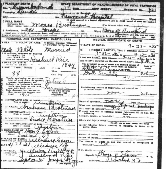 Moses Brotman death certificate_0001_NEW