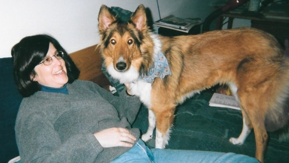 My dog and me November 2001