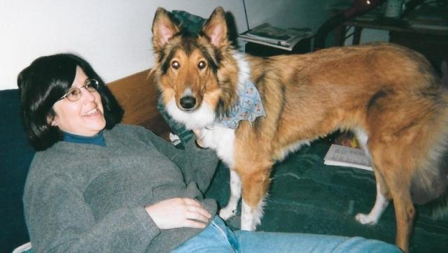 My dog and me November 2001