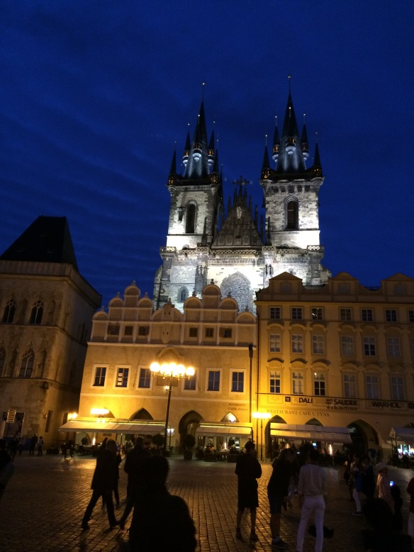 IMG_2470 Night view of Prague Old Town Square