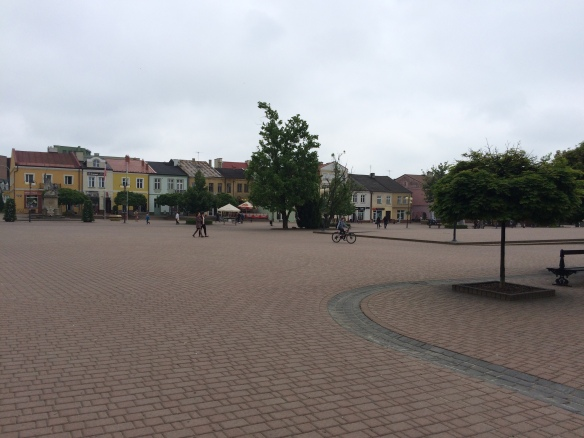 Main square in Tarnobrzeg