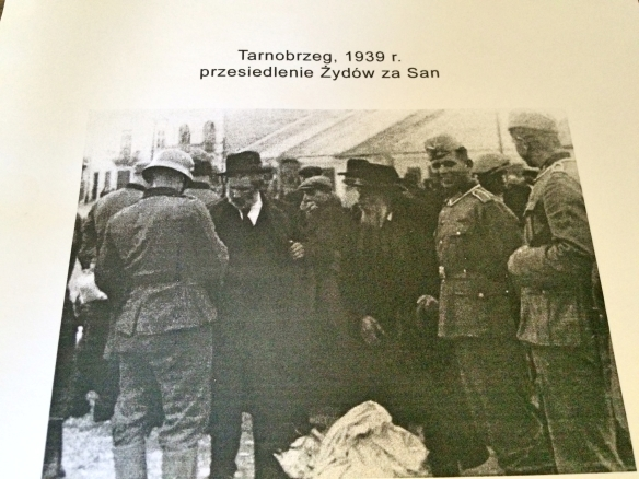 Nazis rounding up the Jews of Tarnobrzeg 1939