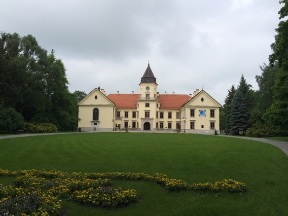 Castle of the Tarnowski family in Tarnobrzeg