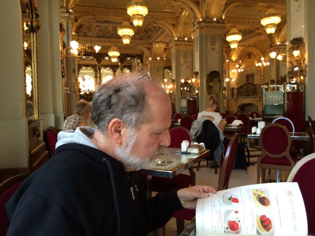 Breakfast at the New York Cafe in the Boscolo