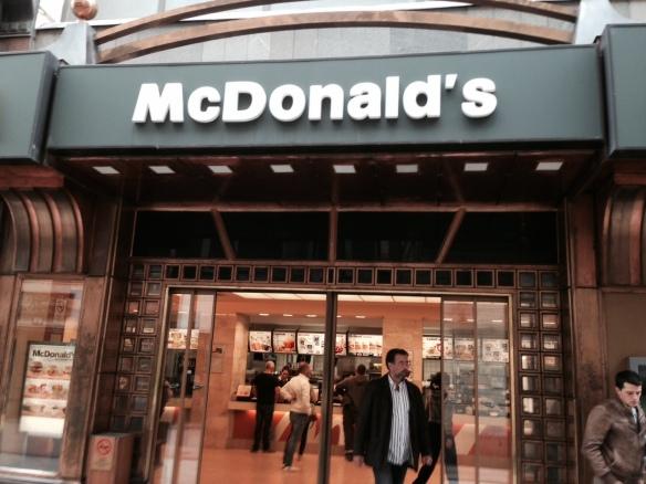 McDonalds in Budapest