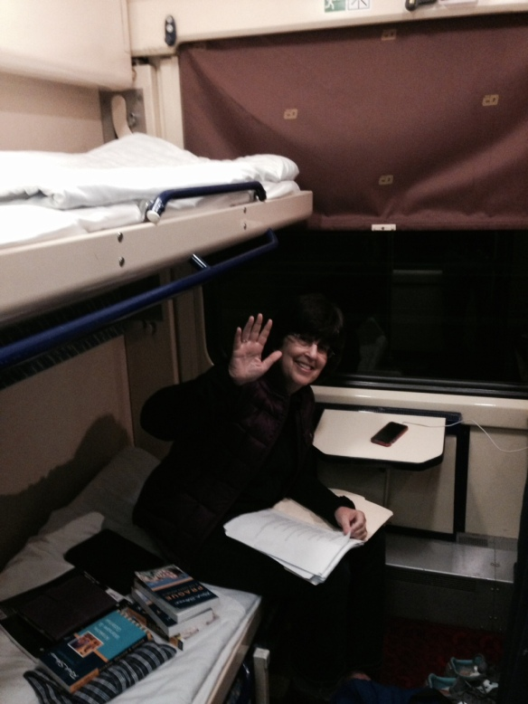 Our sleeping accommodations from Prague to Krakow