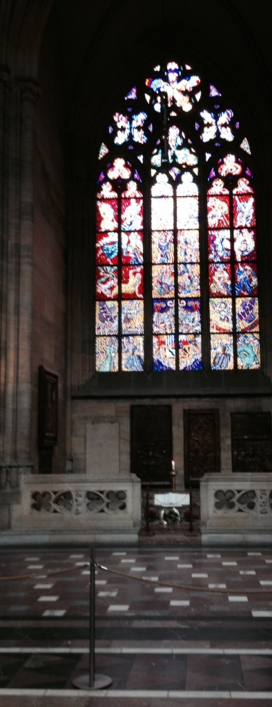 Stainglass St Vitus